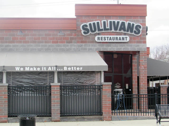 Sullivan's Restaurant in Wauseon is already feeling the effects of a state-ordered shutdown of restaurants.