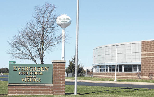 Lighting at Evergreen High School will soon be converted to LED.