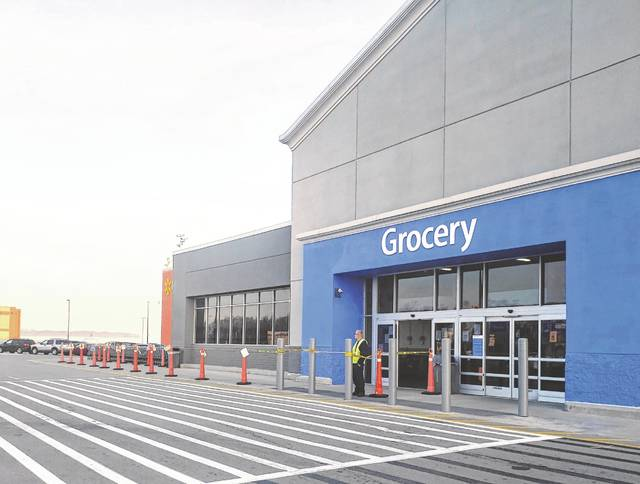 Area businesses, including the Wauseon Walmart, have begun limiting access, as the stay-at-home order for Ohio is extended.