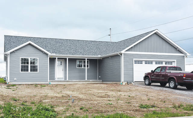 Four County Career Center Construction Trades students helped build a home in Archbold.