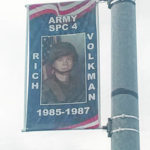 Banners permanent honors for military members