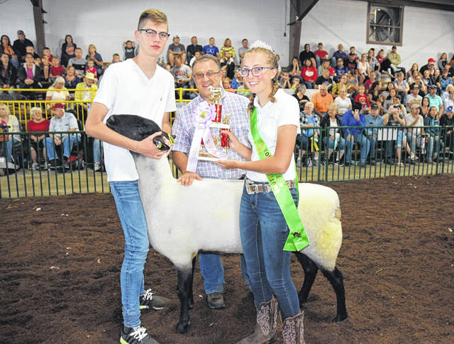 2019 Junior Fair Lamb Ambassador Chloe Creque is shown. The fair this year will have a much different atmosphere.
