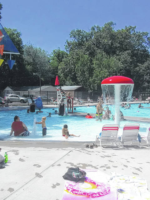 The Wauseon community pool has welcomed 7,000 guests in its first month of operation.