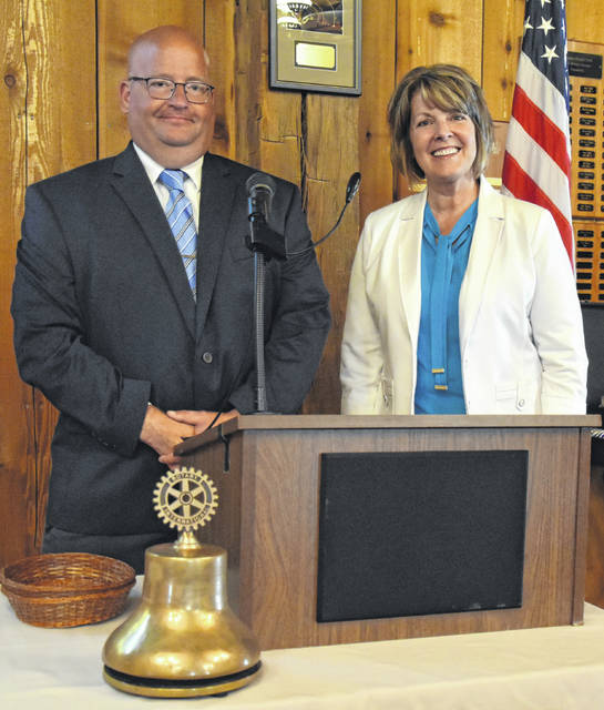 Jodi Herman became president of the Archbold Rotary Club on July 1, the start of the new Rotary year, replacing past president Royal Short.