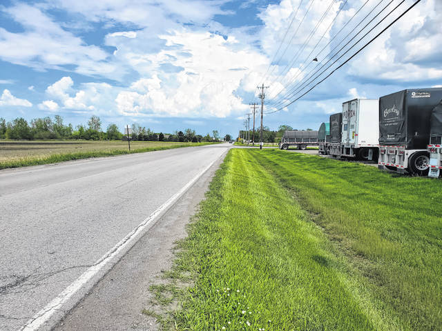 Improvements are planned on County Road H, east of State Route 109, for the planned Nova Tube and Steel project.
