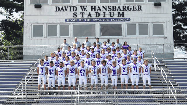 The 2020 Swanton football team.