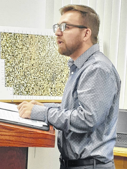 MVPO representative Austin Serna apprised the Fulton County Commissioners on Tuesday of CDBG funds available for revitalization.