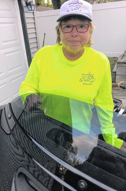 Linda Nijakowski, an avid motorcyclist for 50 years, has retired as a state bike instructor after three decades.