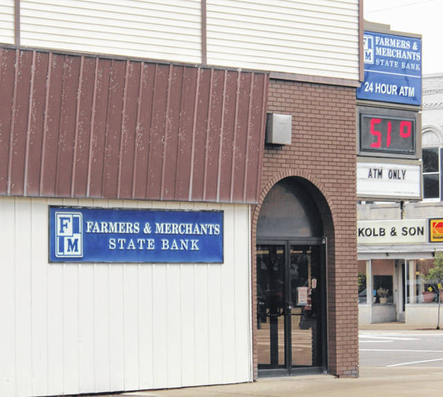 The downtown Wauseon branch of F&M Bank closed March 1 as part of the company's consolidation efforts.