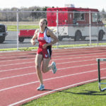 Indians get sweep of Vikings on the track