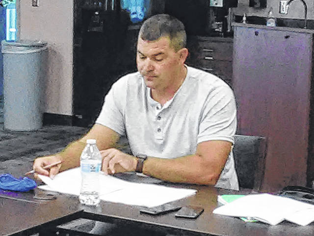 Fulton County EMS Coordinator Clayton O'Brien proposed a revised EMS plan to county officials at a meeting held last August.