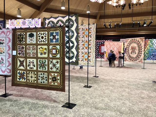 The 44th Annual Sauder Quilt Show will be held May 6-8 at Founder's Hall.