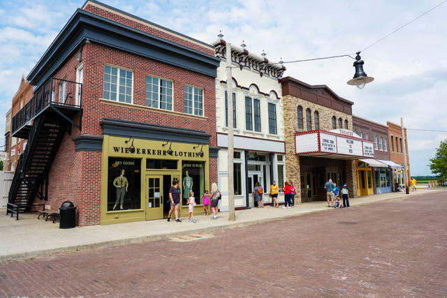 A 1920s Main Street Fest is planned Friday at Sauder Village as part of a 45th anniversary celebration.