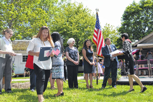 Sauder Village in Archbold will hold a naturalization ceremony in honor of Independence Day on Saturday, July 3.