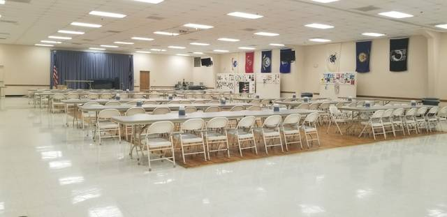 An inside view of Delta American Legion AEEEW #373. The struggling facility has created a GoFundMe account to help pay off its mortgage.