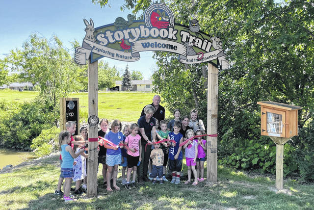 A ribbon cutting was held June 17 for the new Storybook Trail at Mary Jane Thurston State Park.