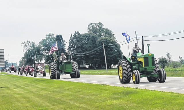 The annual reunion of the National Threshers Association returned to the Fulton County Fairgrounds last week after being cancelled in 2020. The reunion featured steam engines, gas tractors and gas engines. Daily demonstrations were held, as was a parade, above, of the machinery.