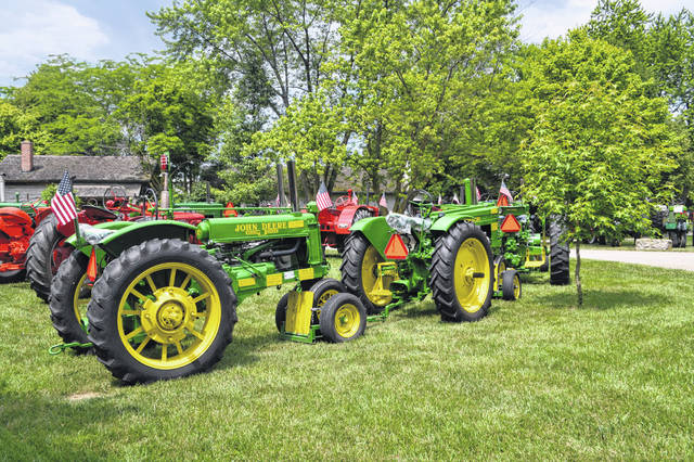 Sauder Village in Archbold will host a gathering of antique tractors on Saturday, June 12.