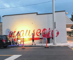 WBT aims to brighten up intersection with mural