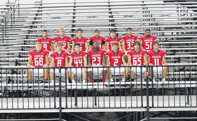 The Wauseon returning letter winners for the 2021 season.