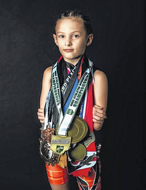 Eight year old Adalynn Anthony of Lyons is making a name for herself not even a year into her youth wrestling career. She is a state champion and multiple time national champion. Anthony is an advocate for a bigger platform in the state for girls wrestling, and wants to have a 'girls night' at the club in which she trains, Junior Panther Wrestling in Toledo.