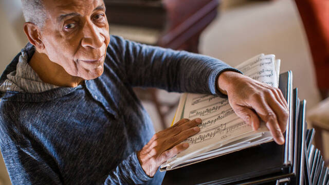 """""""For the Left Hand,"""" a documentary about pianist Norman Malone, will be shown Oct. 1."""
