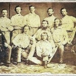 Pre-Civil War baseball teamcard going on the auction block