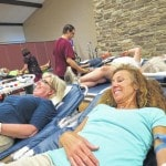 Boot scootin' celebration at 'Country Fun Blood Drive'