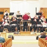 The Sidney Civic Band performs