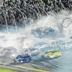 Frightening wreck puts NASCAR safety in spotlight