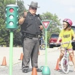 Bike safety at the Botkins Library