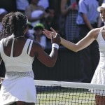 Williams routs Sharapova, faces Muguruza