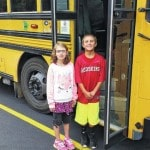 Fort Loramie students learn bus safety