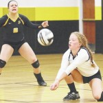 Sidney spikers 0-2 in home tri