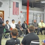 Company leaders meet with RCI Academy students