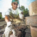 Paving the way: Craftsmanship of Wright State's Sung Kim keeps campus walkways safe, beautiful