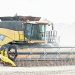 Fort Loramie soybean harvest