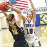 Lady Jackets hold to nip Russia