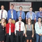 Shelby County high school seniors receive Honda-Ohio State Math Medal Award