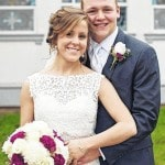 Couple share marriage vows
