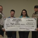 New 4-H club benefits from donations