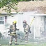 Departments respond to fire