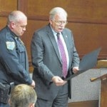McRill receives Officer of the Year award