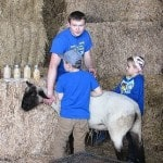 Students learn about life on the farm