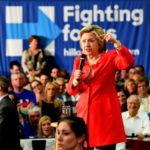 Hillary Clinton will be in Scranton, Pennsylvania, on Aug. 15