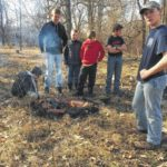 Scouts hold Polar Bear campout