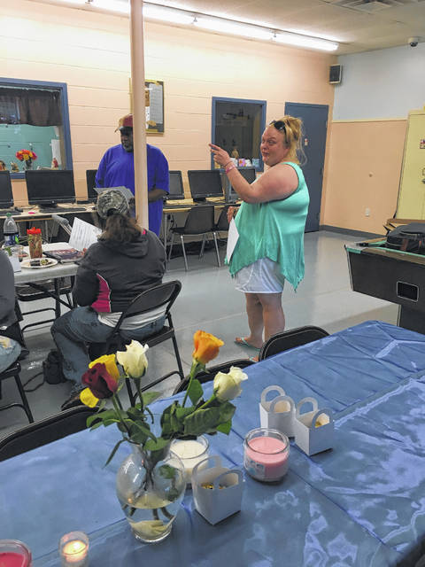 """Mindy Swiger, a graduate of the """"Getting Ahead"""" program, talks about how important the classes have been to her."""