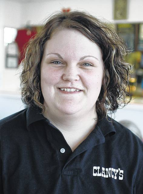 """Taylor Mescher, of Sidney. """"Big hair. It's easy to do."""""""