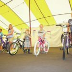 Kids dazzled by lights, prizes