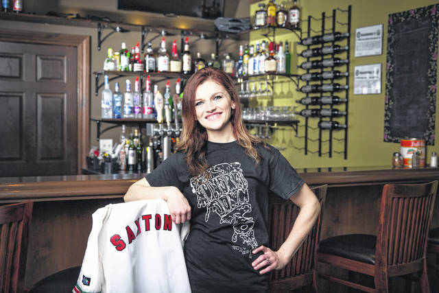 """Brittany Saxton, owner of Six Hundred Downtown, Bellefontaine, will be featured Sunday on the Food Network show, """"Guy's Grocery Games."""" The show airs at 8 p.m."""